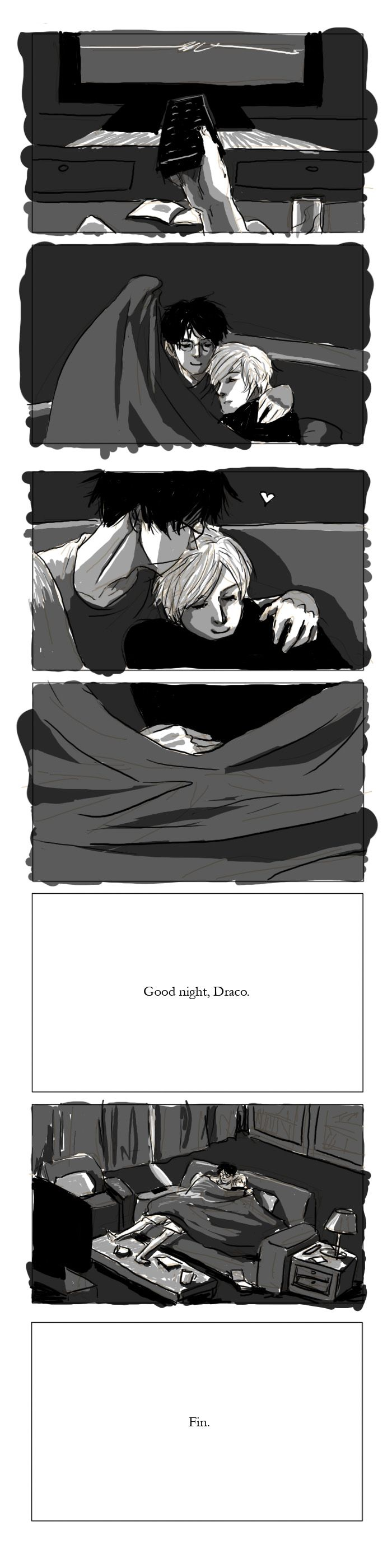 Good Night, Draco - Part II by alteregopi.deviantart.com on @DeviantArt