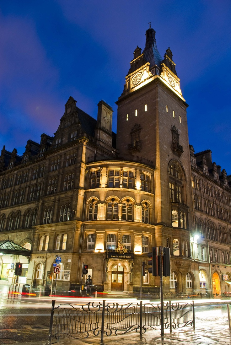 The Grand Central Hotel Luxury Wedding Venue Glasgow Scotland