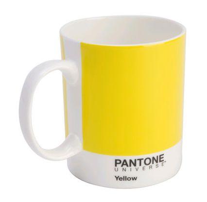Mug Pantone Vrai Jaune