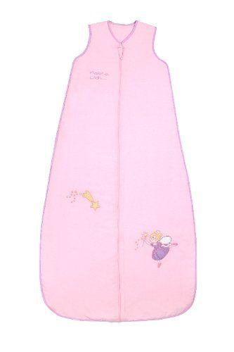 Schlummersack Kleinkinder Ganzjahres Schlafsack 2.5 Tog - Pink Fairy - 130 cm/3-6 Jahre
