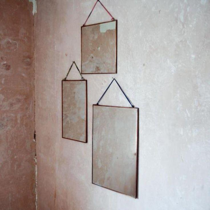 Kiko Copper Mirror at Idyll Home