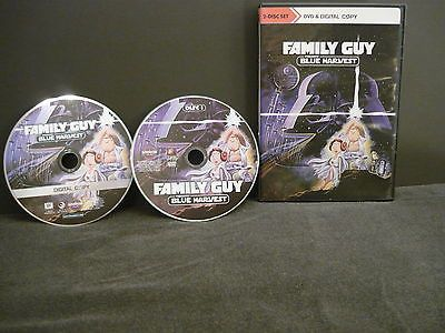 Family Guy Presents Blue Harvest DVD (FULLSCREEN) 2 Movie Discs Not Rated Comedy