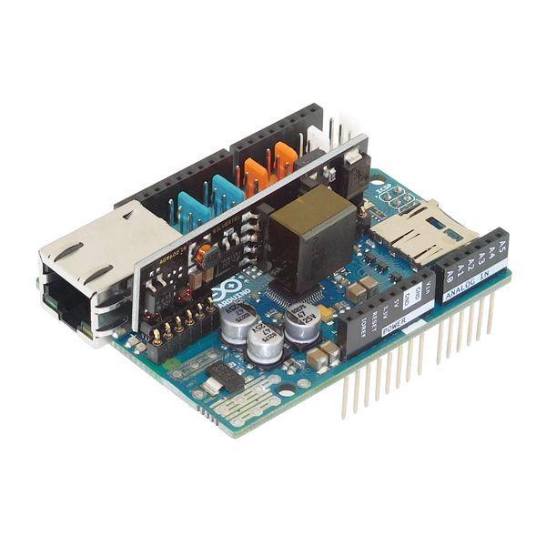 Arduino Ethernet Shield 2 + Poe