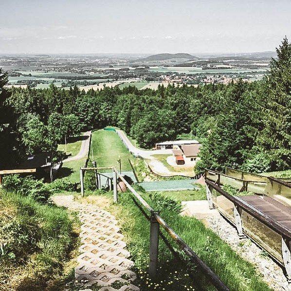 Julia On Instagram Kottmarschanzen Kottmar Kottmarschanze Sachsen Saxony Lausitzerbergland Wintersport Skispringe Outdoor Farmland Germany
