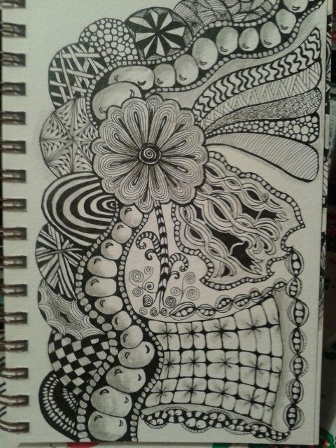 Can ya tell what tangles I favor....