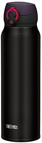 THERMOS water bottle vacuum insulation Mobile mug onetouch open type 075L matte black JNL752 MTBK