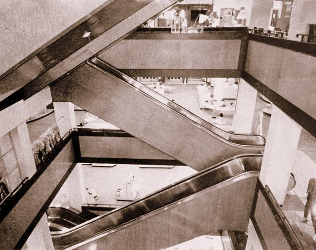 Stuttafords escalators