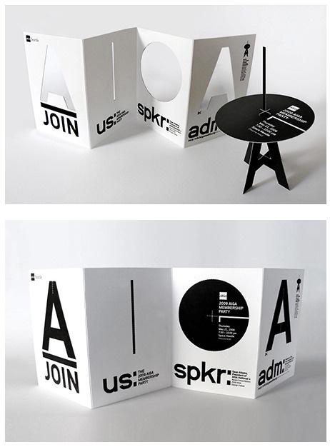 #packaging blanco y negro, positivo negativo #design original para folleto TurnStyle Studio