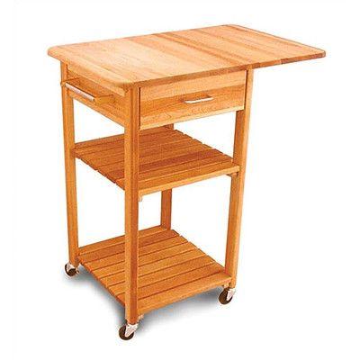 8 Best Drop Leaf Kitchen Carts Images On Pinterest  Kitchen Carts Fascinating Kitchen Cart With Drop Leaf Inspiration Design