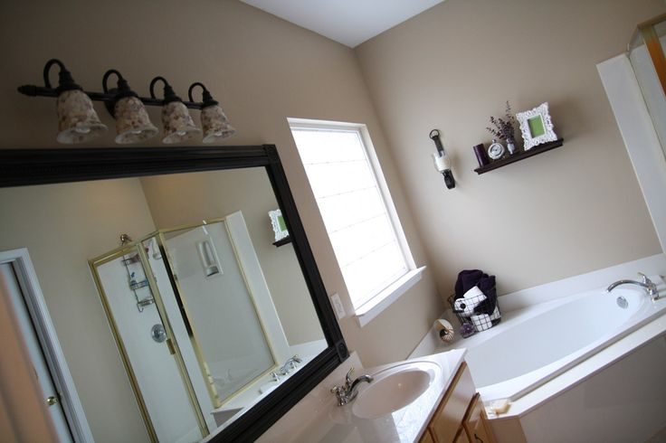 Best 20 Frame Bathroom Mirrors Ideas On Pinterest Framed Bathroom Mirrors Framing A Mirror