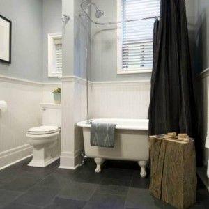 Bathroom Flooring Ideas With Slate , Natural Bathroom Flooring Ideas In  Bathroom Category