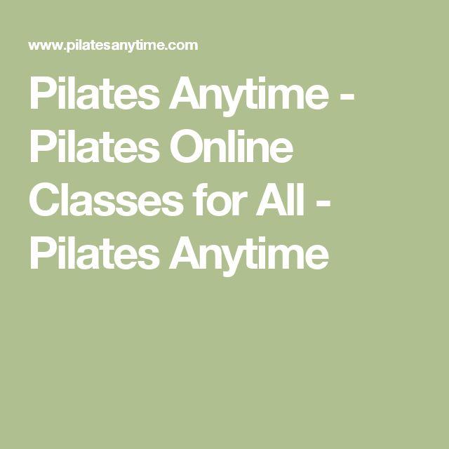 Pilates Anytime - Pilates Online Classes for All - Pilates Anytime