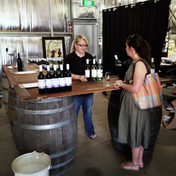 Donna Stephens Cappa Stone Winemaker has been busy on the 2014 vintage.