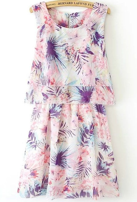 palm tree print + spring colors