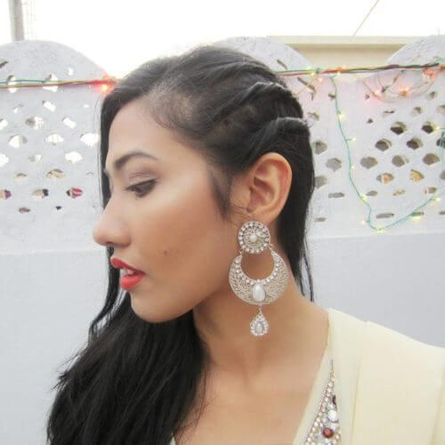 Simple Indian hairstyles