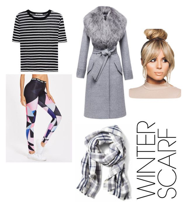 """""""Untitled #18"""" by lori12393 ❤ liked on Polyvore featuring T By Alexander Wang, Sentaler and winterscarf"""