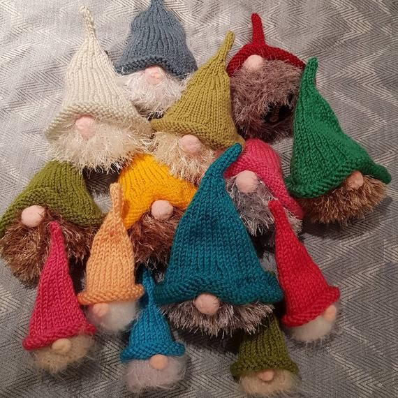 Christmas Tree cover Chocolate orange  knitting pattern only