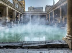 The Roman Baths - what an amazing space for a drinks reception or wedding ceremony!