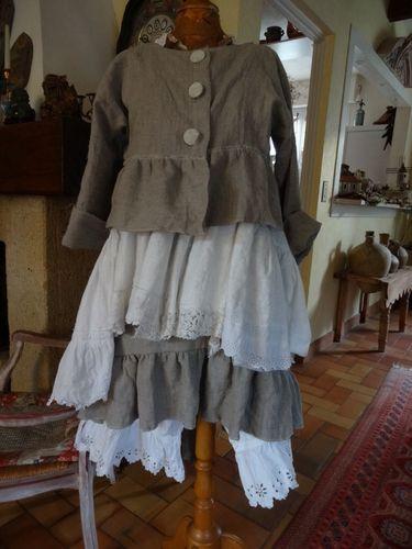 Choux Bijoux Cailloux - Bijoux et accessoires en tissu et linge ancien
