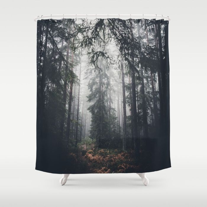 Dark paths Shower Curtain by HappyMelvin   Society6