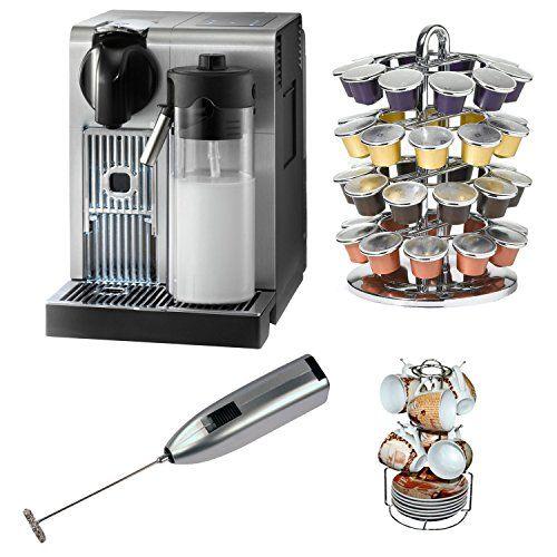 special offers delonghi america en750 nespresso lattissima pro machine with coffee carousel single serve coffee - Nespresso Lattissima Pro