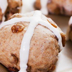 Banting hot cross buns