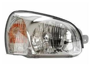 2003-2006 Hyundai Santa Fe Passenger Side Headlight: 2003-2006 Hyundai Santa Fe Passenger Side Headlight #CarHeadlights #AutoHeadlights
