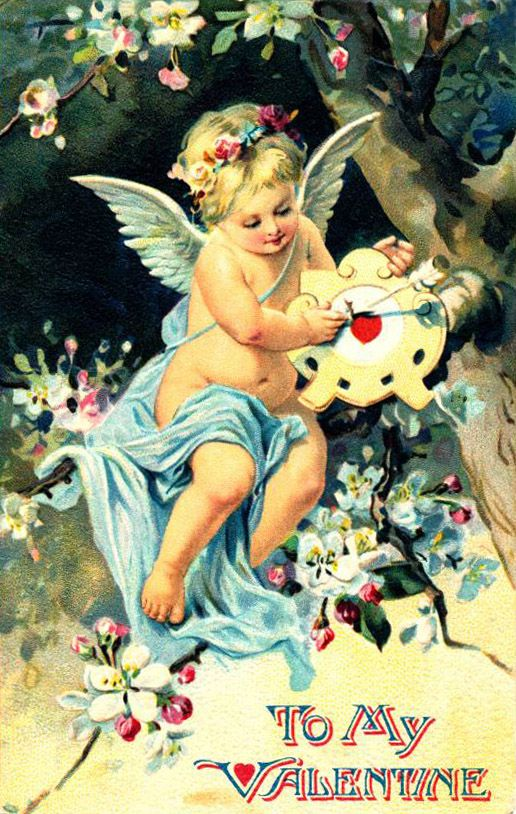 День Святого Валентина . Старинные открытки.: ♥ Creative NN. Блог Альбины Рассеиной. ♥