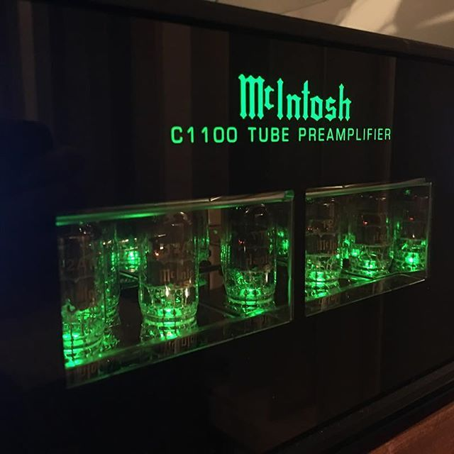 """""""The C1100 is outstanding... A fantastic preamplifier any way you look at it. Highly recommended if you are a lover of the brand, and if you aren't, this is the perfect piece to start your journey."""" - Tone Audio  http://www.tonepublications.com/review/mcintoshs-flagship-tube-preamplifier/  @audioclassics @mcintoshlabs #audiosystem #audiophile #audiovideo #audioporn #audioloveofficial #highendaudio #luxuryaudio #instagood #instamusic #music #musiclover #vinyl #vinylcollection #vinylcollector…"""