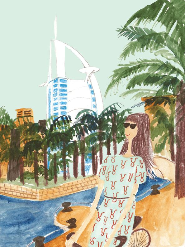May Horoscope - Emirates Woman. Illustration by Kirsten Sims.