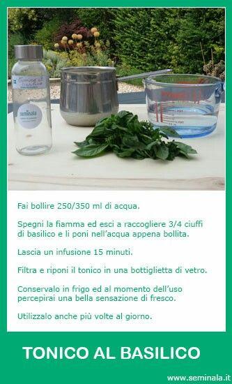 Tonico al basilico