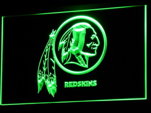 Washington Redskins Logo LED Neon Sign