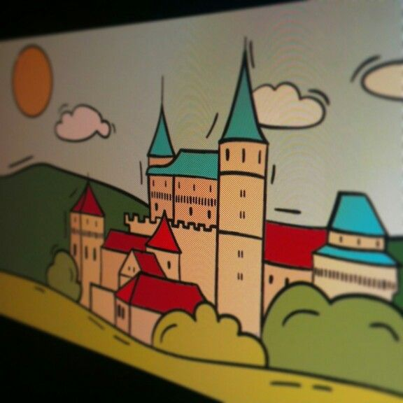 Upcoming digital drawing #illustration #graphic #history #bojnicecastle #slovakia