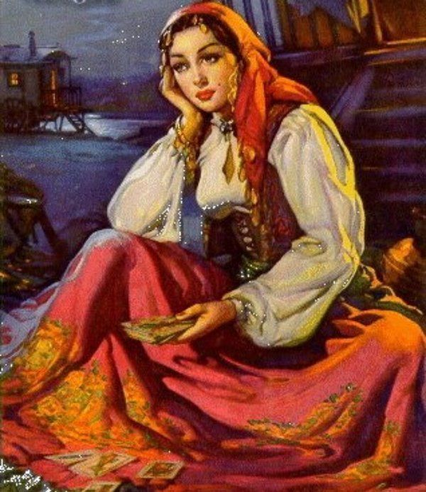 cartas ciganas a magia das cartas - Pesquisa Google