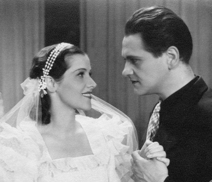 Helena Grossówna and Eugeniusz Bodo in Dwa dni w raju, 1936.