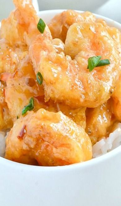 Bang Bang Shrimp (wouldn't do it again, pretty good, but the sauce was too much after awhile)