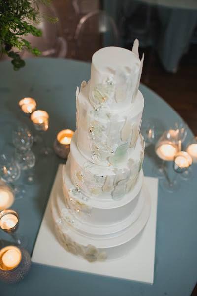 Wedding cake by Marangona   edible geode   geode cake   www.marangona.hu