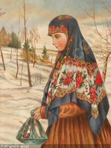 Russian girl.