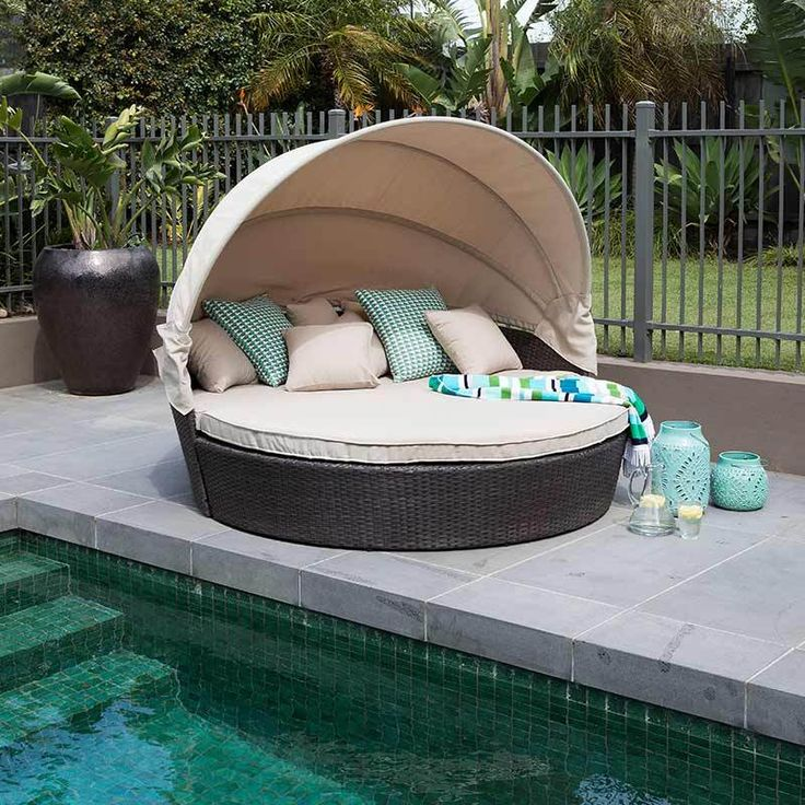 Marvelous Outdoors Domain   Deluxe Lounge With Parasol (Coffee), $799.95 (http:/ Part 23