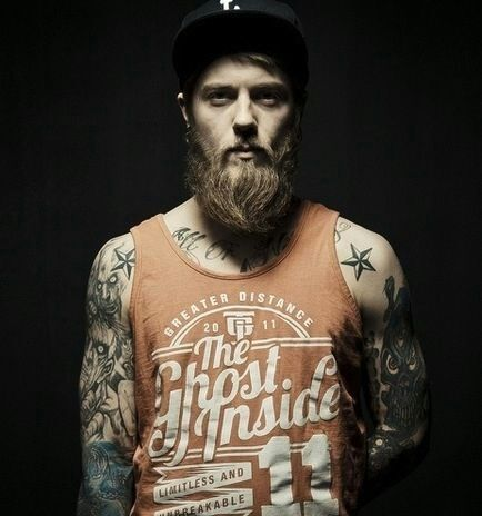 93 best images about beards were made for lovin 39 on for Bearded tattooed man