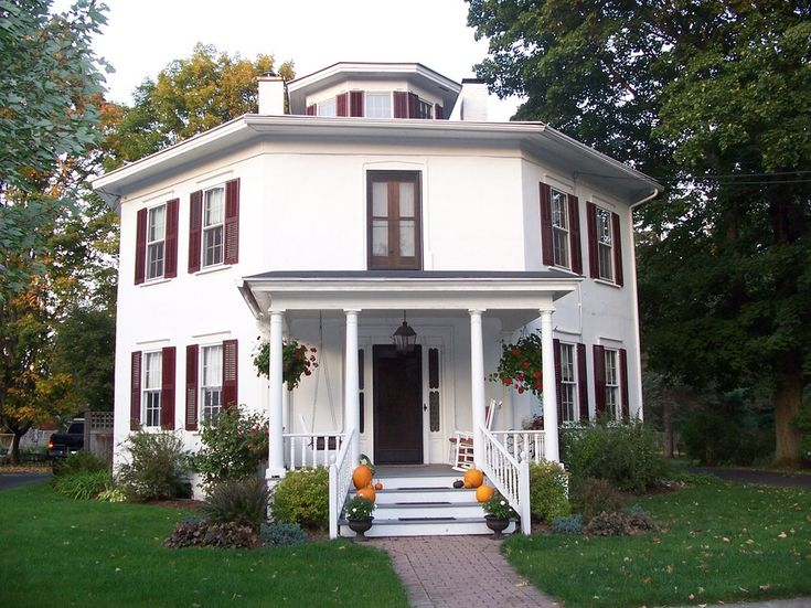 wonderful octagon homes #3: Homer, NY : the octagon house in homer