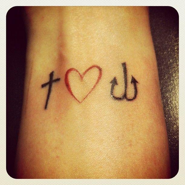 glaube liebe hoffnung faith love hope tattoos i like pinterest tattoo tatoo and mini. Black Bedroom Furniture Sets. Home Design Ideas