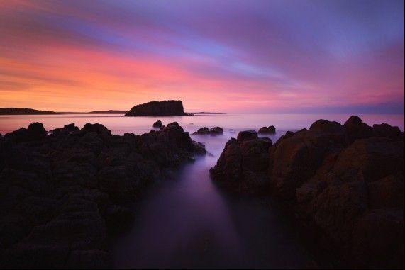 Rangoon Island otherwise known as Stack Island at Minnamurra, Kiama NSW.  #Kiama #Illawarra #NewSouthWales #australia