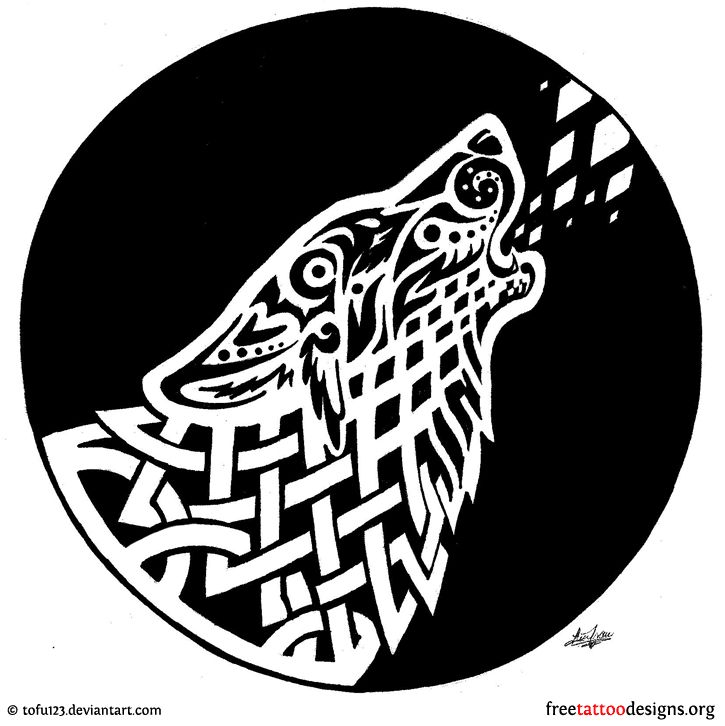Celtic wolf! Future tattoo?