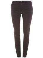 Womens **Juna Rose Curve Grey Slim Jeans- Grey