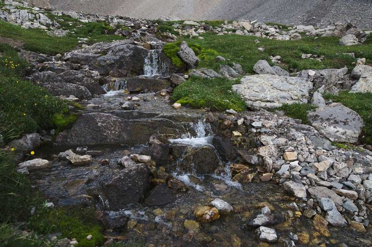 Waterfalls and alpine meadows are on this three-hour hike in Peter Lougheed Provincial Park