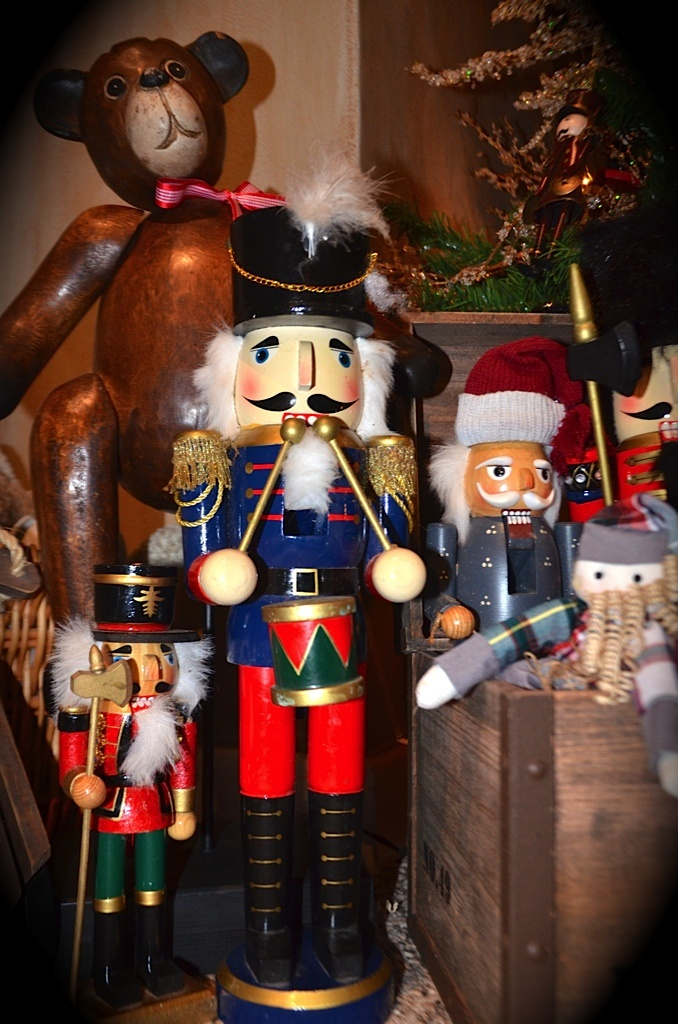 Nutcrackers and wooden toys