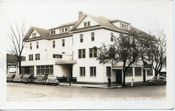 1940's-National Hotel Vernon BC