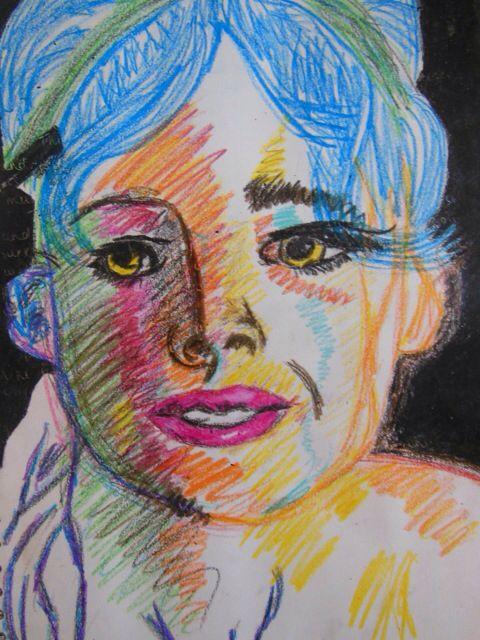 Portrait of colour #creativemoi #colour #portrait