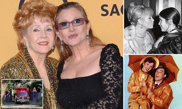 Debbie Reynolds dies aged 84 a day after daughter Carrie Fisher